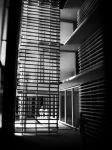 CACC Library Bookstacks and Gallery/Courtyard by sangirose2