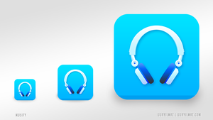 Musify - Mp3 Player Application icon for iOS by uuryilmaz