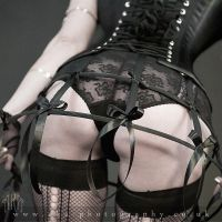 Caged bootie by aka-photography-uk