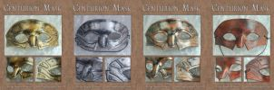 Assorted Centurion Masks by Angelic-Artisan
