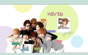 UKISS Kevin Wallpaper by singthistune