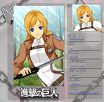 Attack on Titan Template- Felicia Ostrom by PolarBearsWilEatThy