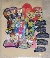 Atomic Betty collage by kimtheartist