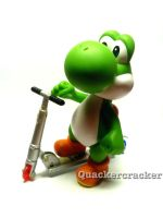 Scooter Yoshi by Quacksquared
