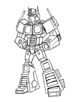 Optimus Prime Lines by memorypalace