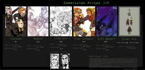 2013 Commission Prices [OPEN] by Jackarais