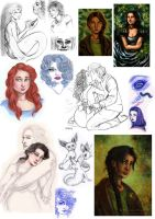 Sketch Dump 2013 by Verlisaerys