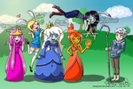 Adventure Time Meets Jack Frost 2 by OdieFarber