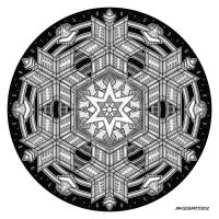 Mandala drawing 35 by Mandala-Jim