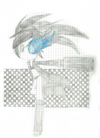 Black Rock Shooter by Flowers012