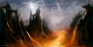 Apocalyptic Landscape by Ryben