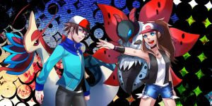 pokemon Unova trainers by seventhblitz