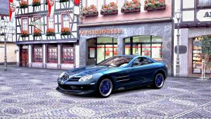Mercedes Benz SLR Mclaren GT5 4 by whendt