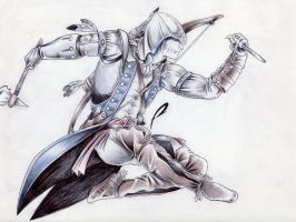 Connor Kenway by alduin46