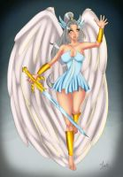 Sera Warrior Angel by lufidelis