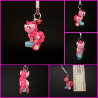 Pinkie Pie Charm by minnichi