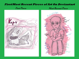 First And Most Recent Art Piece Meme by Razapple