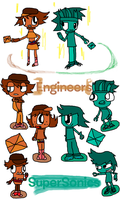 Engineers And The SuperSonics by Uxie126