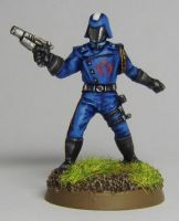 Cobra Commander 28mm Miniature by FraterSINISTER