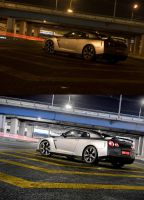 Nissan GT-R Before-After 1 by Bambr