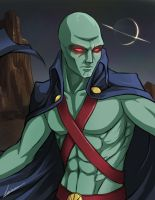 J'onn J'onzz - Martian Manhunter by Lonirisme
