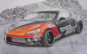 Toyota GT-86 Drift by Millo97