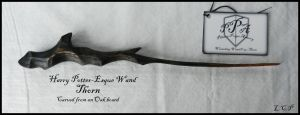 Prop Wand: Thorn by Sathiest-Emperor