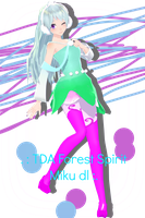 [Request #2]TDA Forest Spirit Miku dl by Sushi-Kittie
