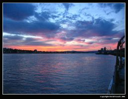 Mare Island Sunrise by Riverine