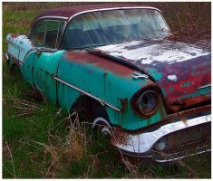 Turquoise and Rust by BeckyMarie73