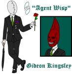 Gideon Kingsley -Agent Wisp- and Demeter by TheSpiderManager