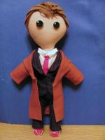 Tenth Doctor Plushie by NocturnalEquine