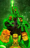 Green Lantern Dynasty by StephenSchaffer