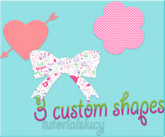 ----  custom shapes ----- by tutorialslucy