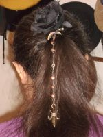 Copper Fleur-de-Lis Hair Decoration 2 by Windthin