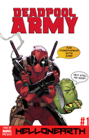Deadpool Army #1: Human Busters! by FansOfMarvelPresent