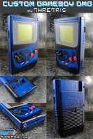 Black and Blue LSDJ Gameboy by Thretris