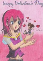 Happy V-Day, Kairi :3 by KasumiKetchum