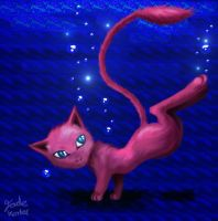 Detailed Mew by Jade-Viper