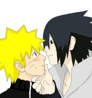 sasunaru love by Bleach-Fairy