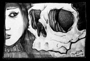 Another Skull by DavidR-XV