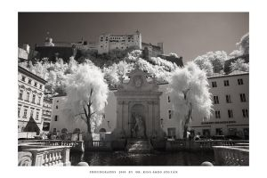 Salzburg in infrared - II by DimensionSeven