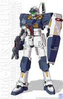 RGM-79ES GM Elite BR config by twtmaster