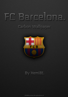 FC Barcelona Carbon Wallpaper by Hemingway81
