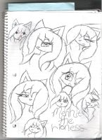 Menhit Faces and Expressions by DarkHallows1000