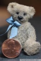 Joey 1 and three quarter  inch bear by kimbearlys