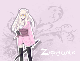 Ninja of pink - Zephyrante by Katfura