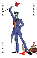 Joker Card by Hodges-Art