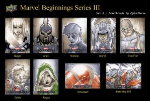 Marvel Beginnings 3 - Set 3 by theopticnerve