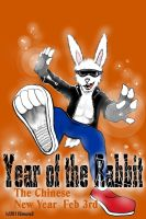 2011 Year of the Rabbit by Emuzin2
